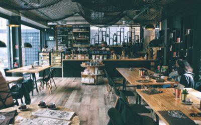 Find de rette borde til jeres café